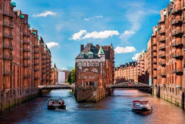 Speicherstadt was declared World Heritage Site by the UNESCO in 2015.
